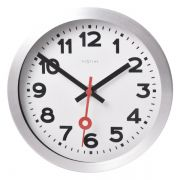 Relógio Parede Station White Aluminium Nextime