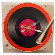 Relógio Toca Disco Fullway 60x60x10cm