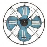 Relógio Ventilador de Parede 46cm x 46cm x 4cm