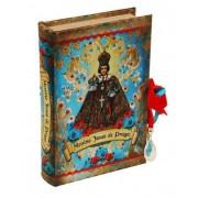 Santos - Livro Caixa Menino Jesus De Praga