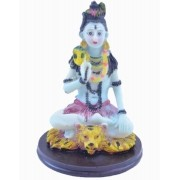 Estatua Imagem de Shiva De Resina Importado