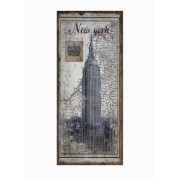 Tela Antique Empire New York Linho