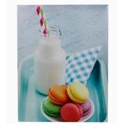 Tela Imp Macarrons & Milkshake Fullway 30x40x1,8cm