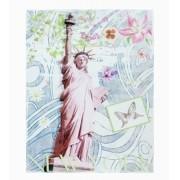 Tela Impressa Estátua Da Liberdade