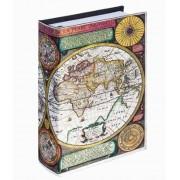 Telefone Mapa Mundi Book Phone Mapa 22x15x6cm