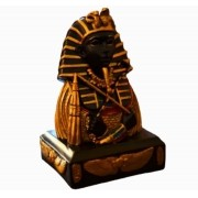 Estatua Imagem Egiptcia Tutankamon Importado 21 Cm
