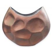 Vaso Alumínio Bronze Rústico 41x10x34cm