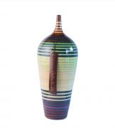 Vaso P - Monet - Alto Brilho - Carolina Haveroth 46X16X16cm