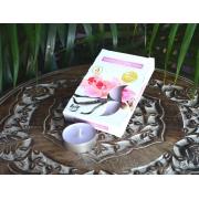 Vela Rechaud Aromática Decorativa Flutuante Orquídea e Baunilha 6 Un