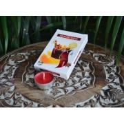 Vela Rechaud Aromática Decorativa Flutuante Vinho 6 Un