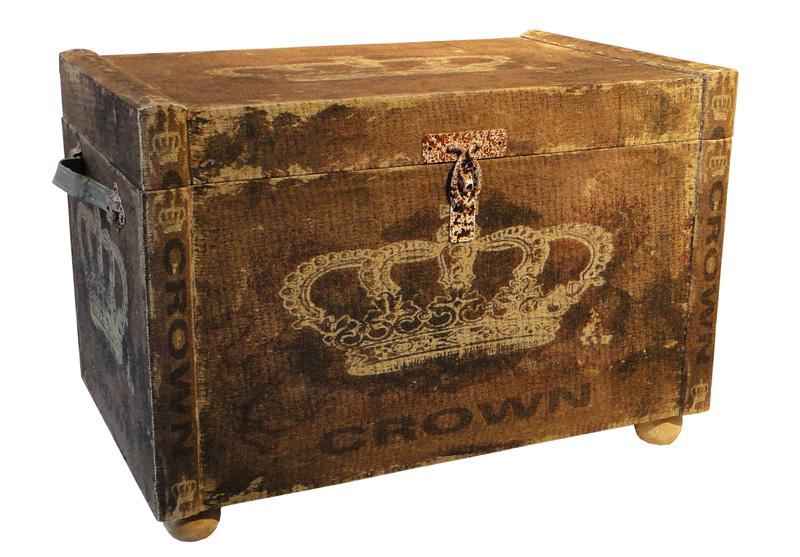 Baus Linho Conjunto De 3 Peças Coroa Rainha Oldway  - Arrivo Mobile