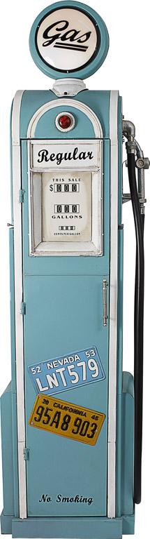 Armário Bomba Gasolina Vintage Iluminado Oldway  - Arrivo Mobile