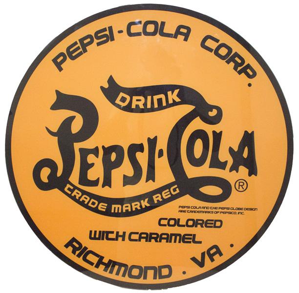 Quadro De Vidro Logo Pepsi Yellow Fullway 70X70X7  - Arrivo Mobile