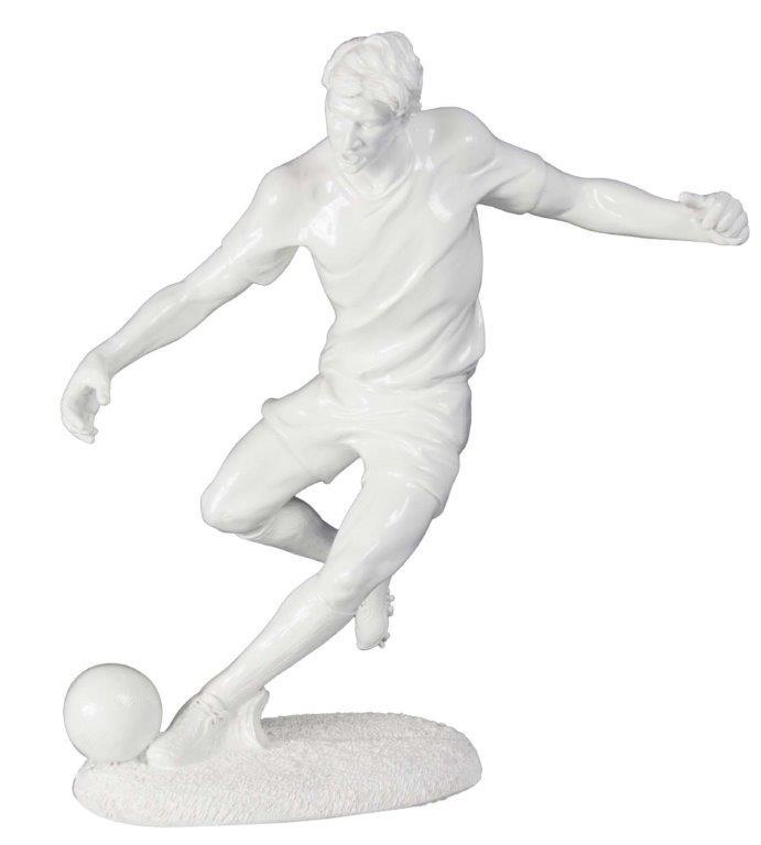 Estátua Jogador De Futebol Resina Fullway  - Arrivo Mobile