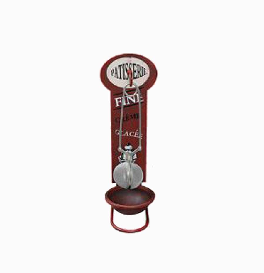 Acessório P/ Chá Patisserie Vermelho Oldway 23x9x10cm  - Arrivo Mobile
