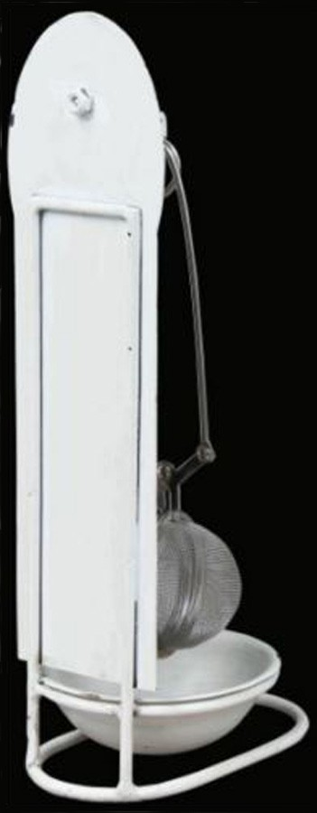 Acessorio Para Cha Paris Branco Oldway 23x9x10cm  - Arrivo Mobile