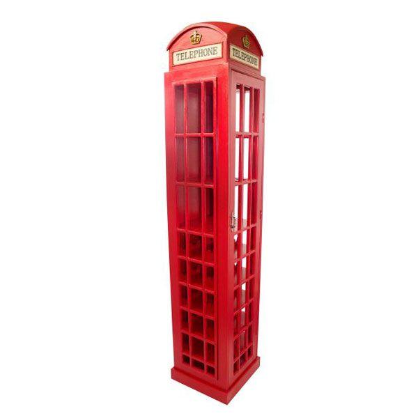 Adega Em Madeira Gg Cabine Telefônica Oldway  - Arrivo Mobile