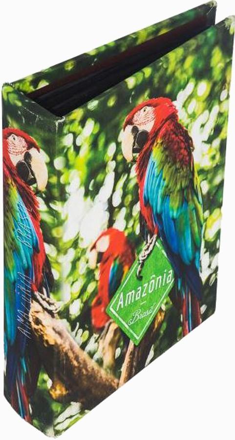 ÁLBUM 200 FOLHAS ARARA AMAZÔNIA FULLWAY 24X19X6CM  - Arrivo Mobile