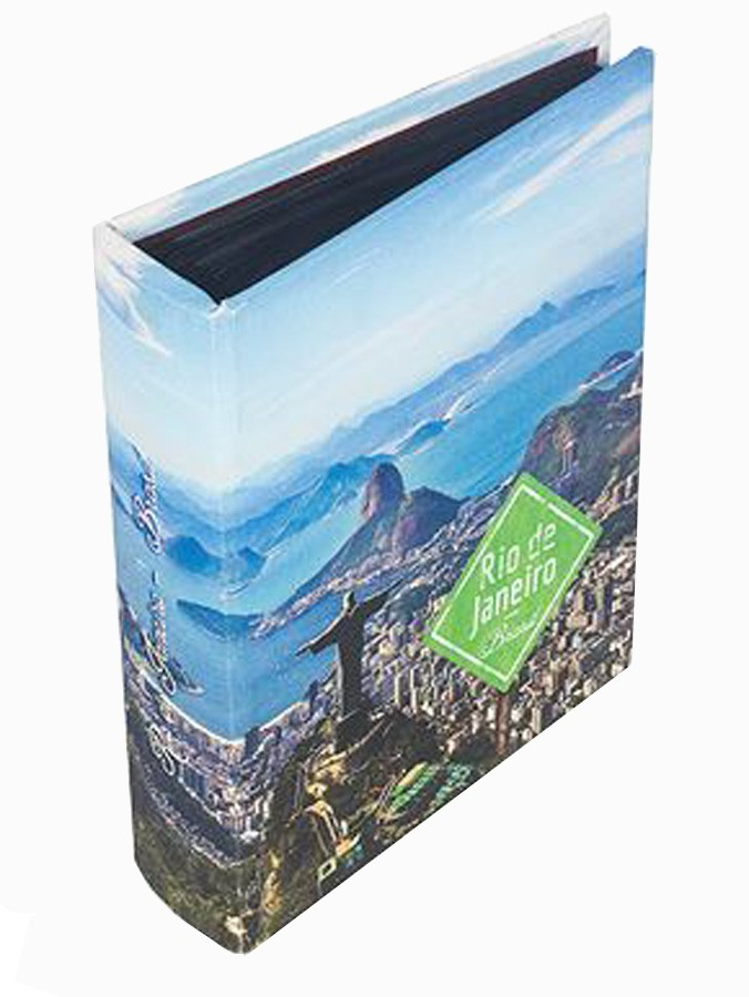 Álbum Rio De Janeiro 200 Fotos Fullway 24x19x6cm  - Arrivo Mobile