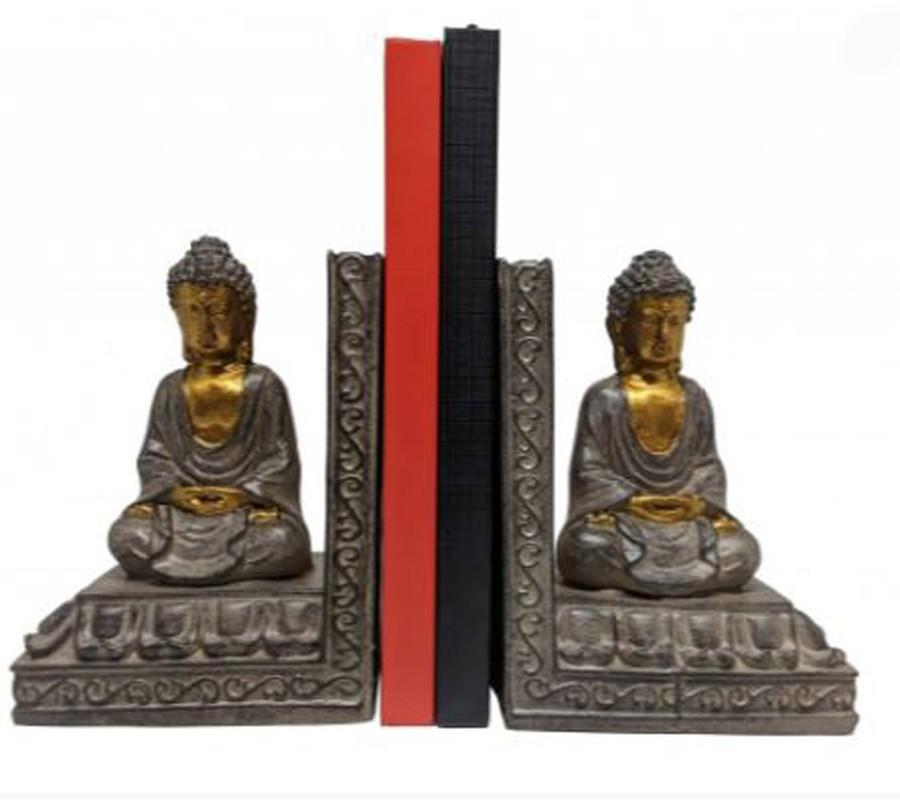 Aparador Para Livros Buda 11.8x8.7x15.5  - Arrivo Mobile