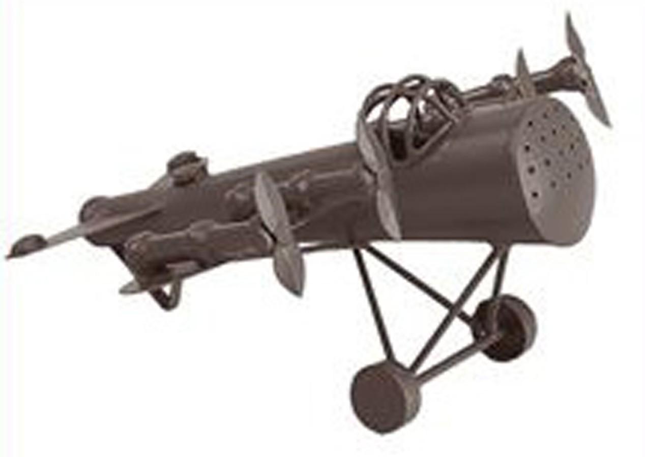 Avião Antique Tabaco 12x19x22cm  - Arrivo Mobile