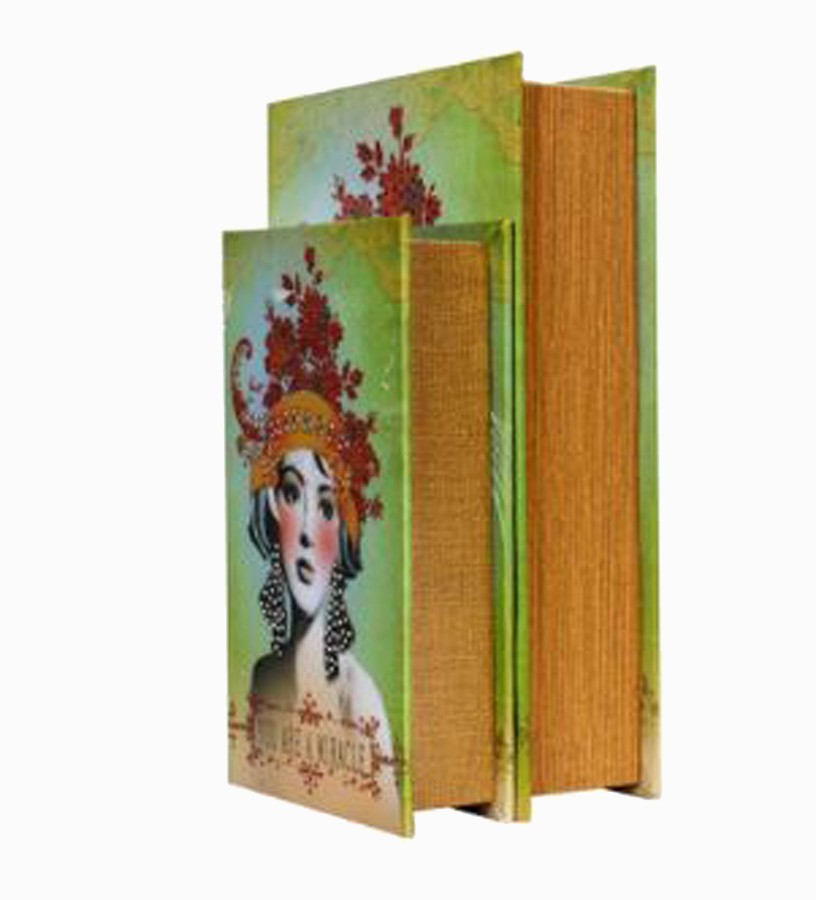 Book Box Cj 2 Pc Miracle Strass  - Arrivo Mobile
