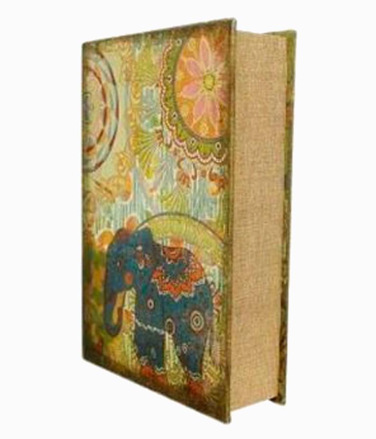 Book Box Cj 4pc Elefante India  - Arrivo Mobile