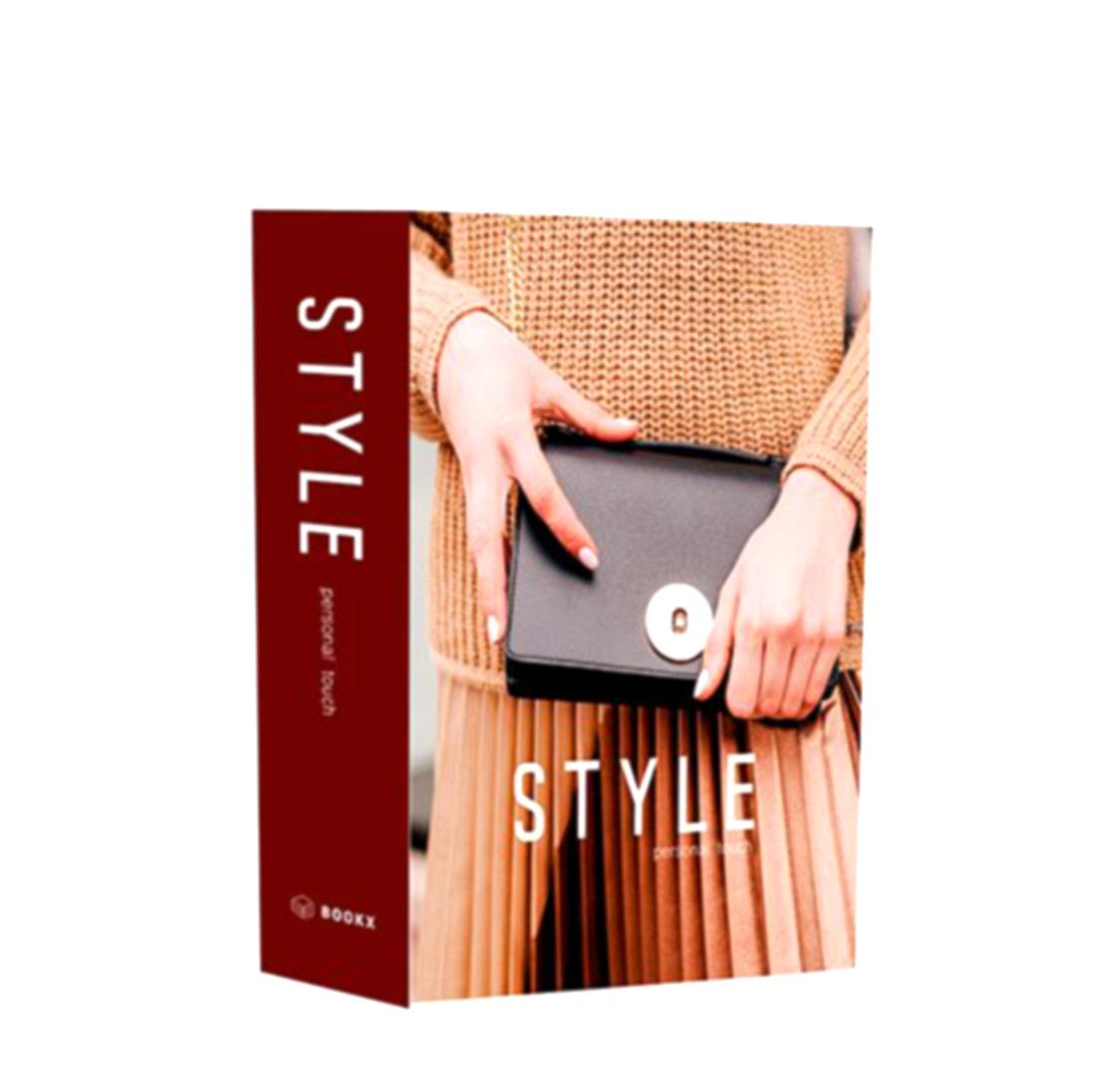BOOK BOX LIVRO CAIXA DECORATIVO Fashion Personal  - Arrivo Mobile
