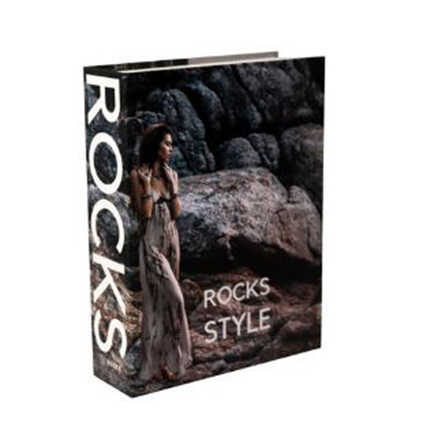 Book Box Rocks 26x20x7cm  - Arrivo Mobile