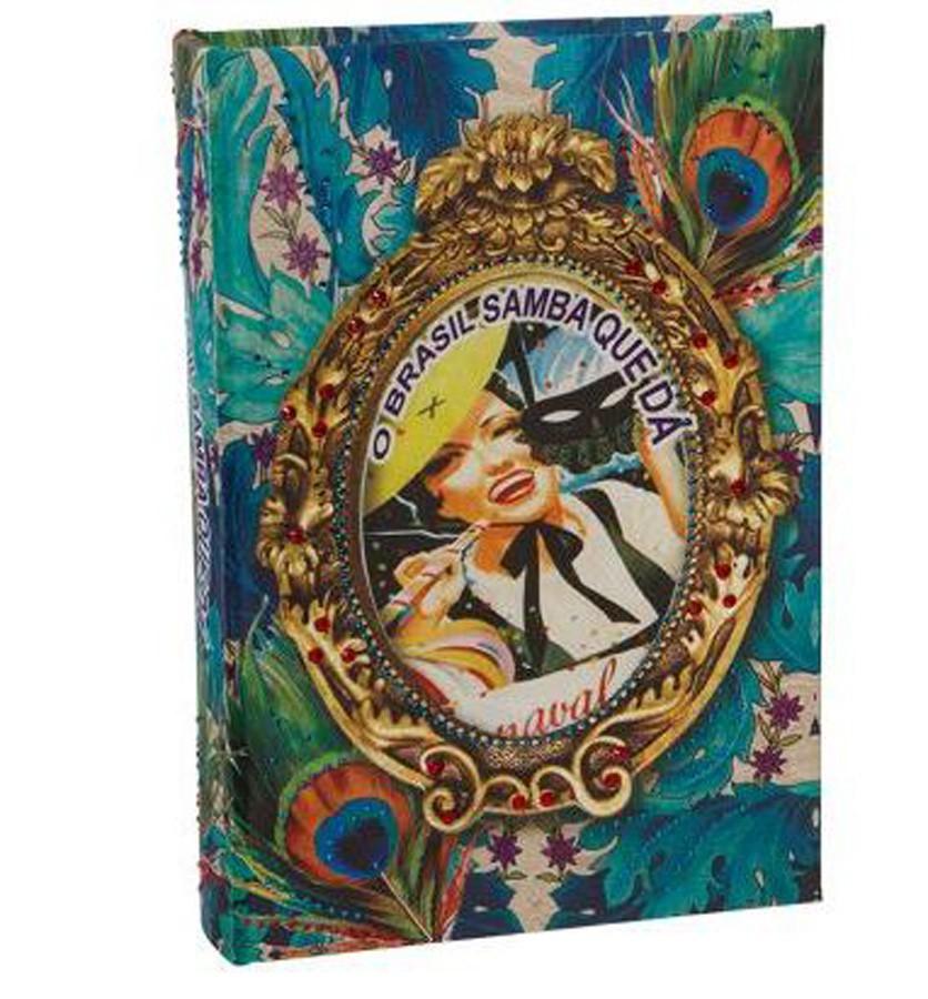 Brasil Chic - Livro Caixa Book Box Pavão  - Arrivo Mobile