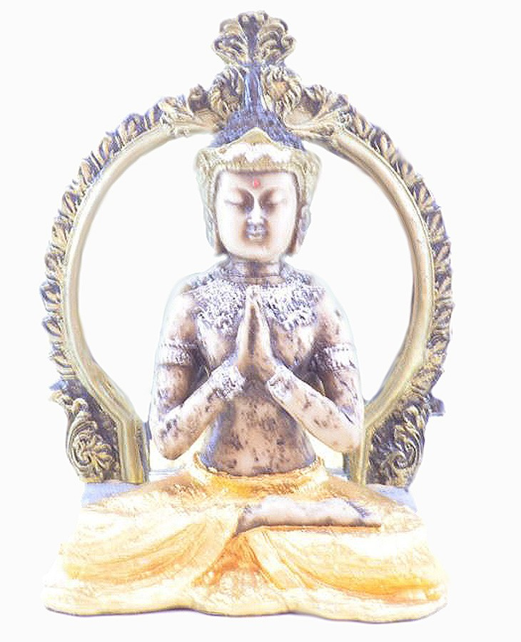 Estatua Imagem de Buda Arco  - Arrivo Mobile