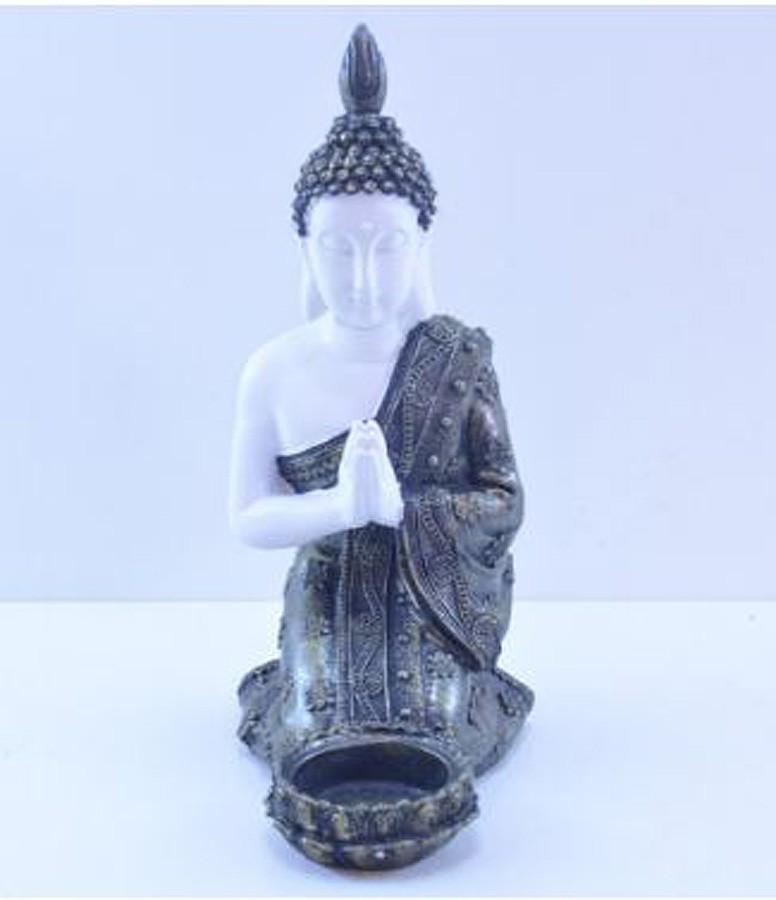Estatua Imagem de Buda Castiçal Mod A Importado  - Arrivo Mobile