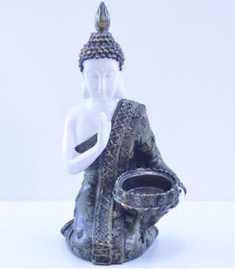 Estatua Imagem de Buda Castiçal Mod B Importado  - Arrivo Mobile