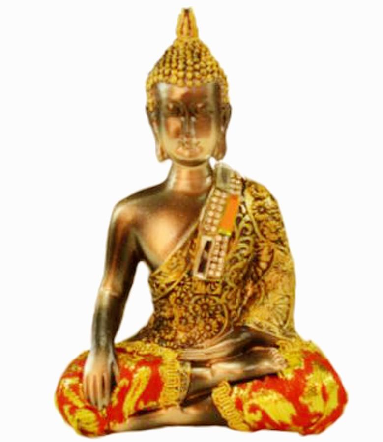 Estatua Imagem de Buda Com Tecido C Importado  - Arrivo Mobile