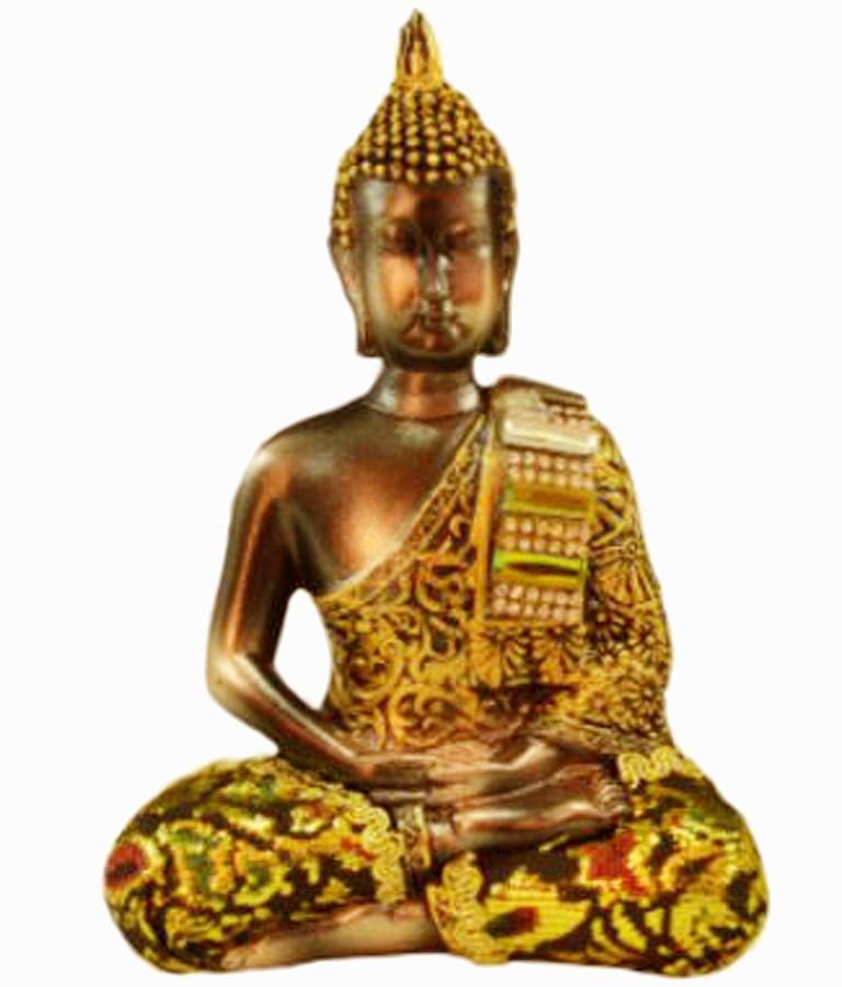 Estatua Imagem de Buda Com Tecido D Importado  - Arrivo Mobile