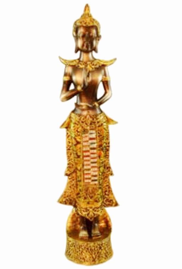 Estatua Imagem de Buda Com Tecido Importado  - Arrivo Mobile