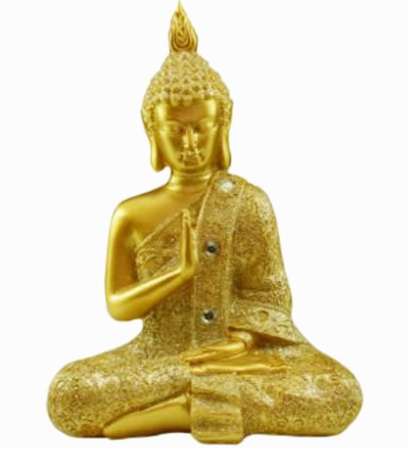 Estatua Imagem de Buda M Dourado Importado  - Arrivo Mobile