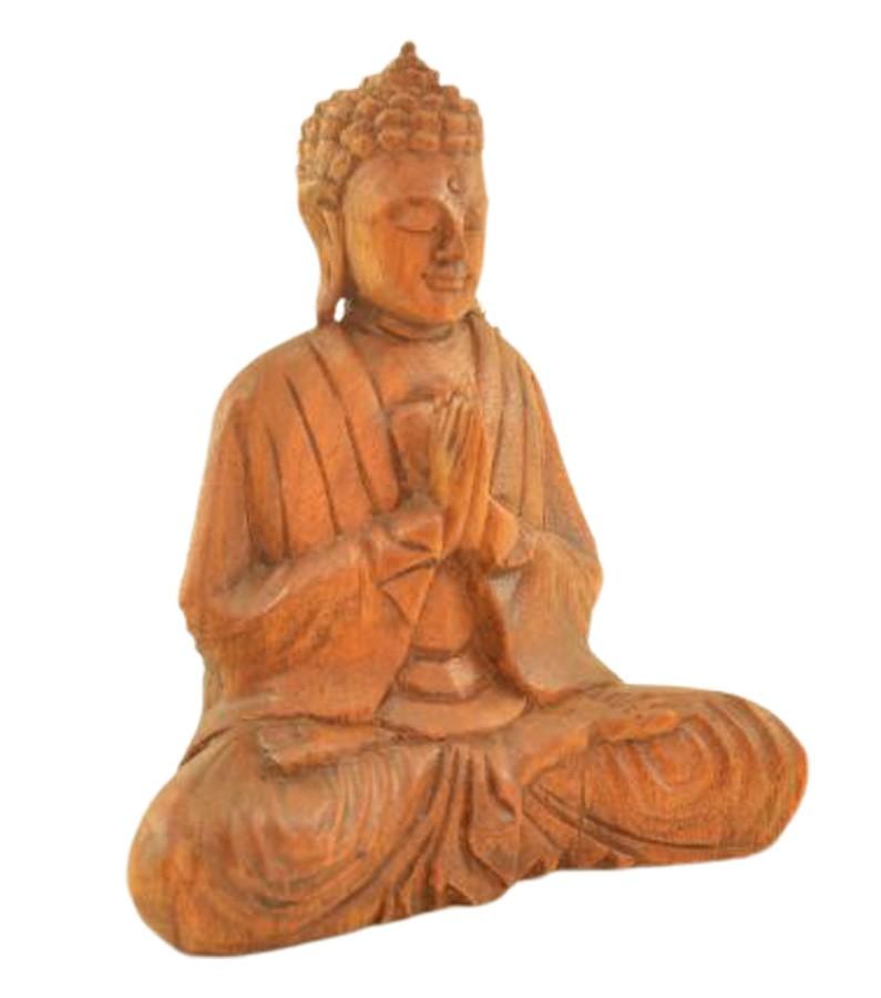 Estatua Imagem de Buda Mad Bali Marrom Imp  - Arrivo Mobile