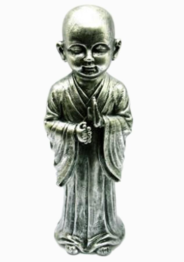Estatua Imagem de Buda Prata Em Pé Importado  - Arrivo Mobile