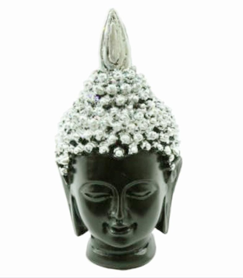 Estatua Imagem de Buda Tibetano Prata P Importado  - Arrivo Mobile