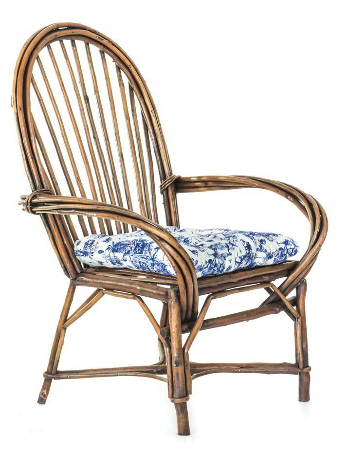Cadeira Crioula Vime Natural  - Arrivo Mobile