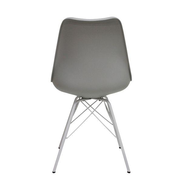 Cadeira Pé Palito Cinza Fullway  - Arrivo Mobile