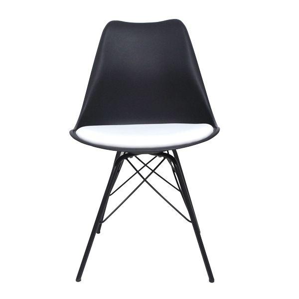 Cadeira Pé Palito Preta Fullway  - Arrivo Mobile