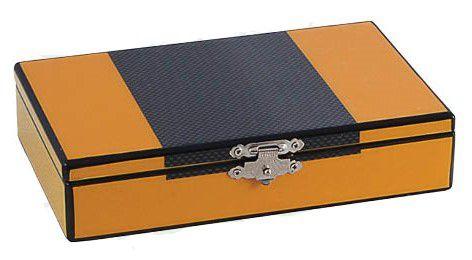 Caixa Baralho E Dados Amarelo Grafit Goldway  - Arrivo Mobile