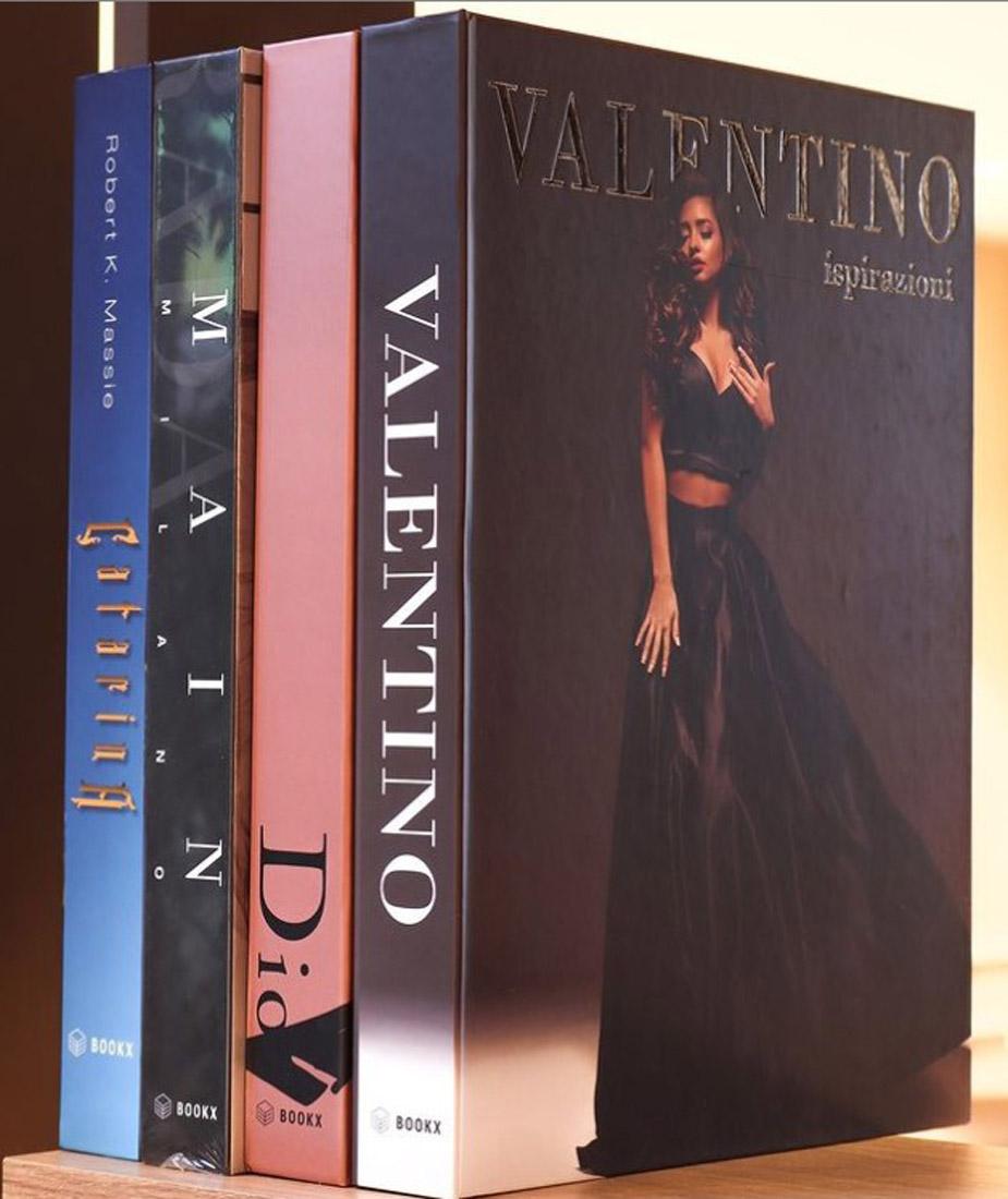 Caixa Livro Decorativo Book Box Valentino Ispirazioni 36x27x5cm  - Arrivo Mobile