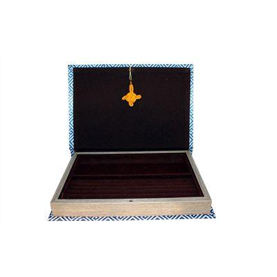 Caixa porta Anéis e Alianças Royal Branca   - Arrivo Mobile