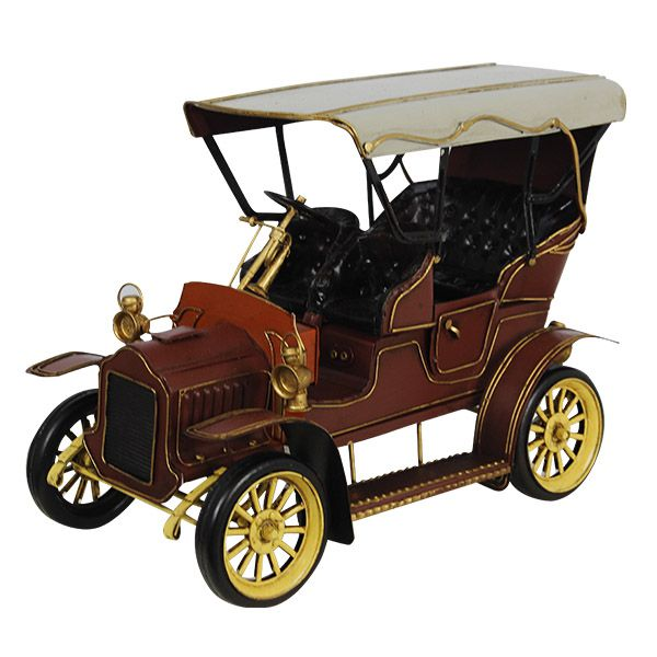 Carro Modelo 1900 Em Metal Oldway  - Arrivo Mobile