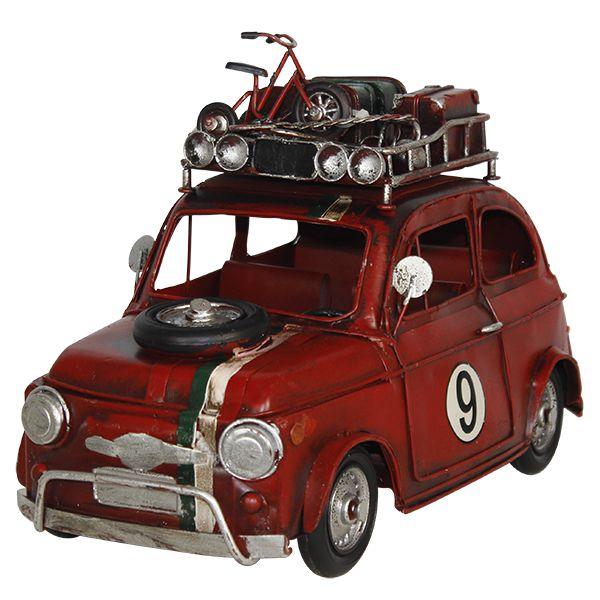 Carro Vermelho Em Metal N9 Oldway  - Arrivo Mobile