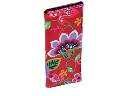 Carteira Nature Floral  - Arrivo Mobile