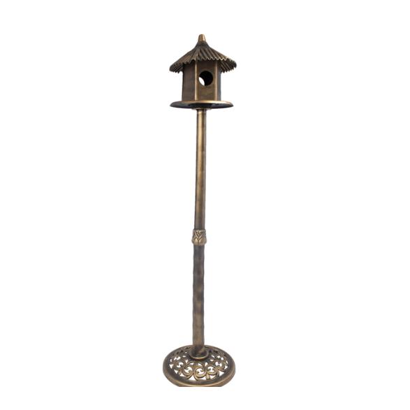 Casinha de pássaros Cinza   - Arrivo Mobile